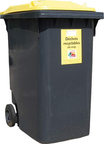 consignes tri bac jaune recyclables