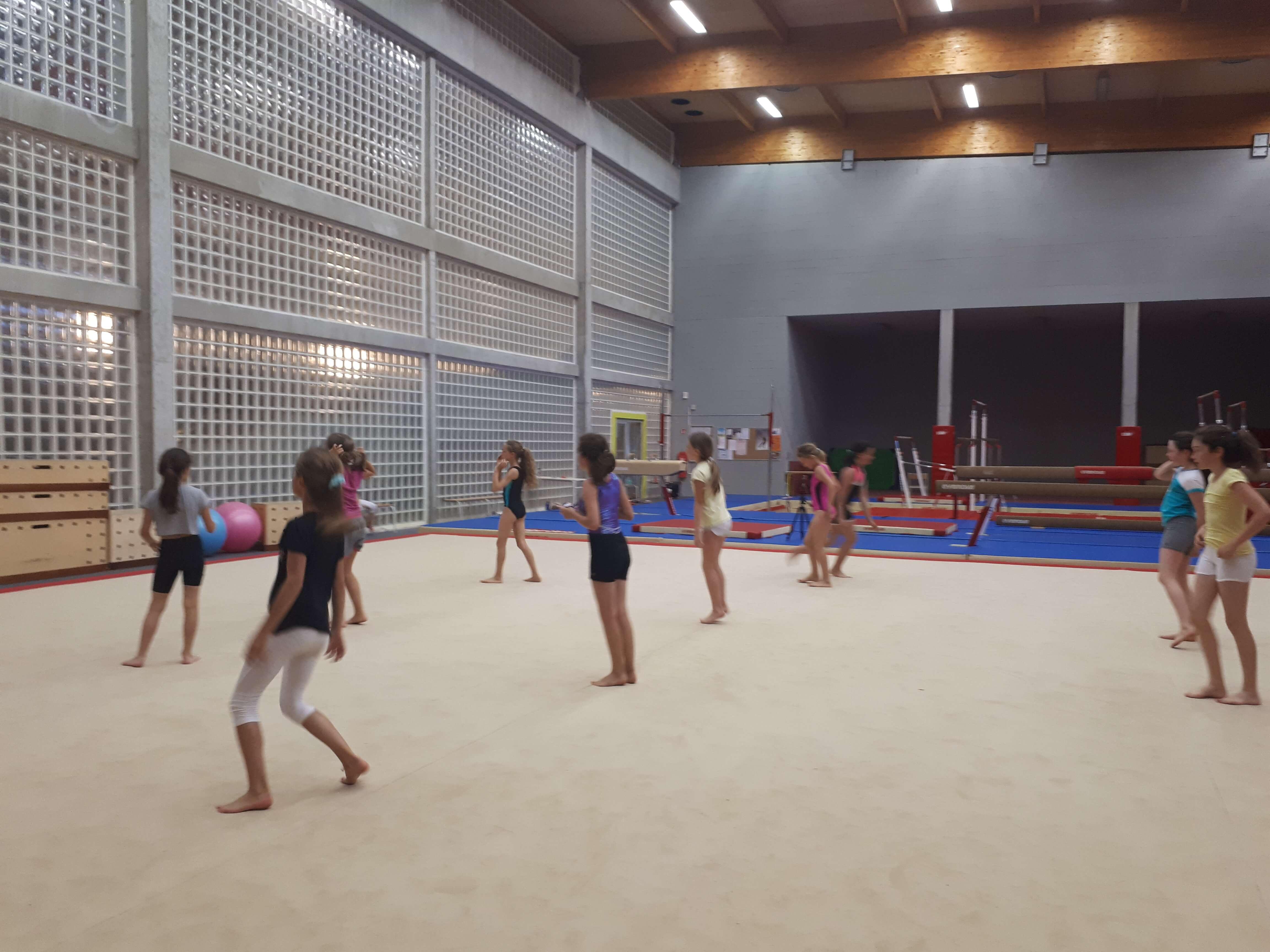 gymnastique centre sportif