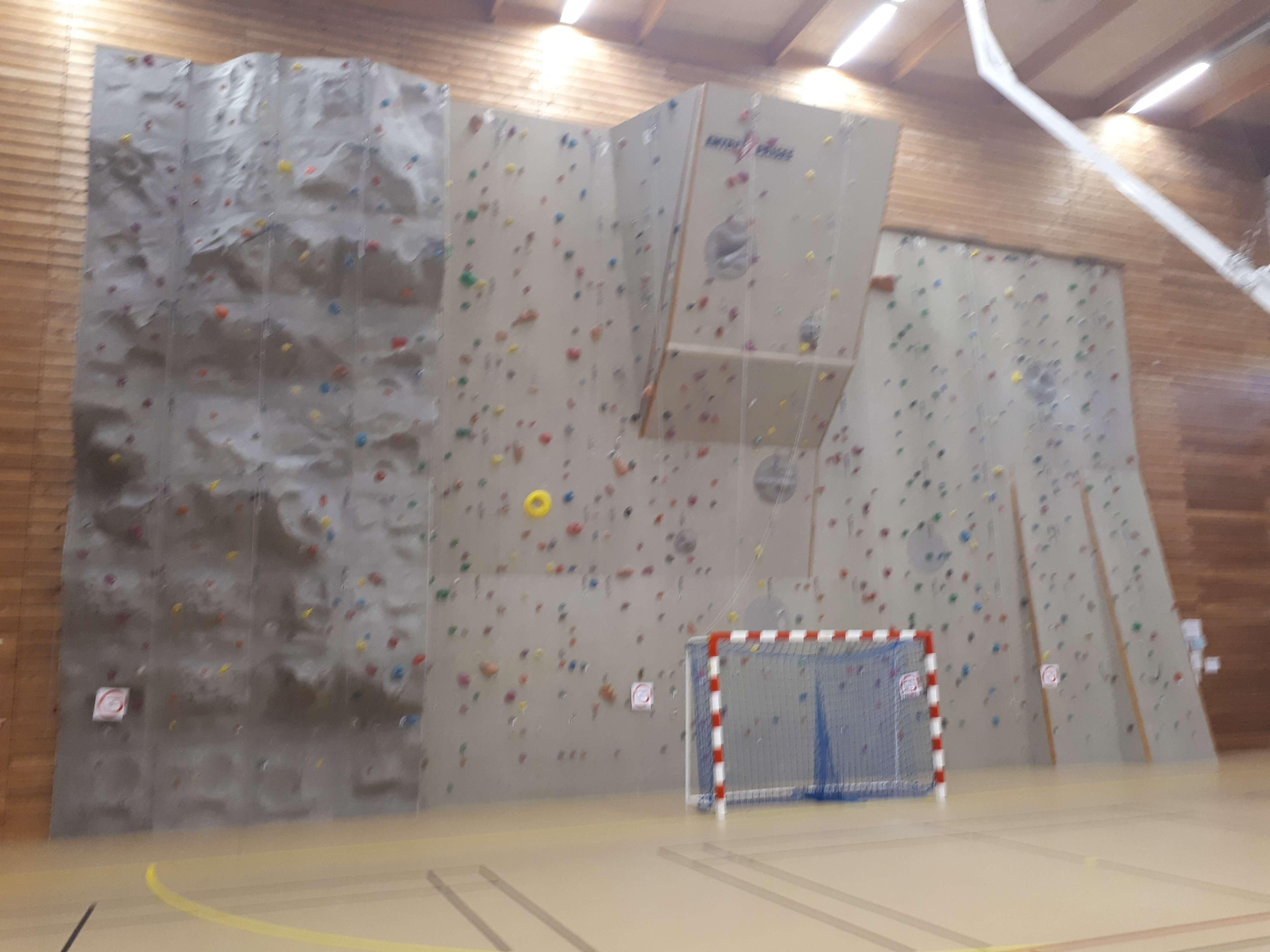 mur escalade centre sportif