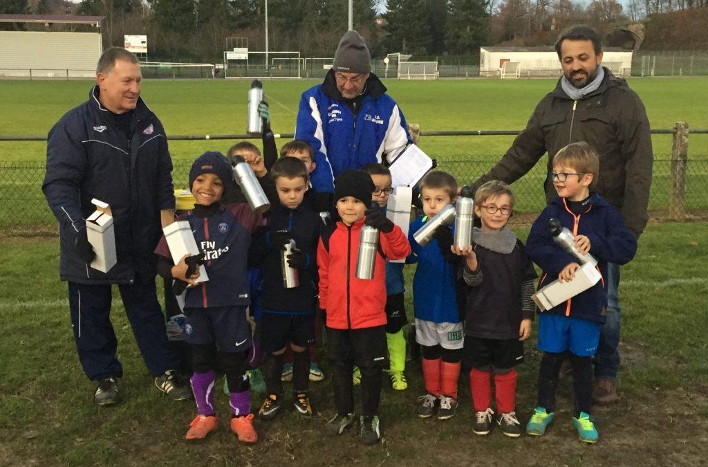 Des jeunes footballeurs écocitoyens !