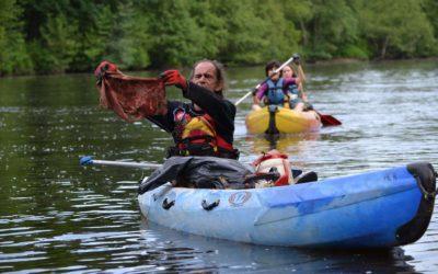 Opération nettoyons la rivière en images