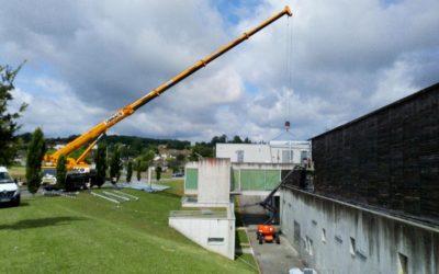 Fin de chantier au centre sportif