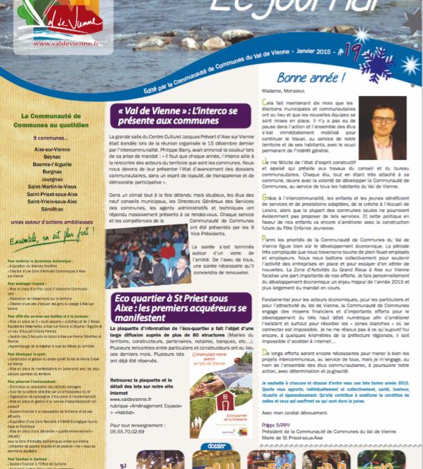 Journal communautaire n°19