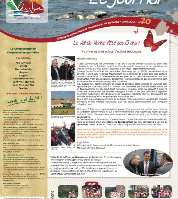 Journal communautaire n°20