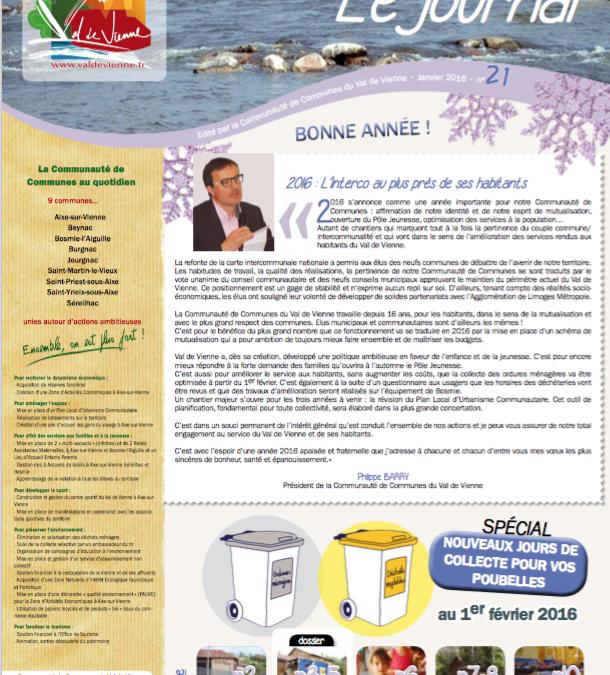 Journal communautaire n°21