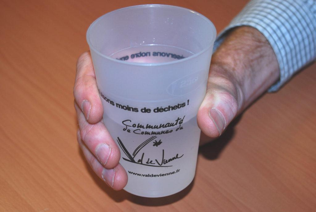 prêt de gobelets réutilisables réduction déchets