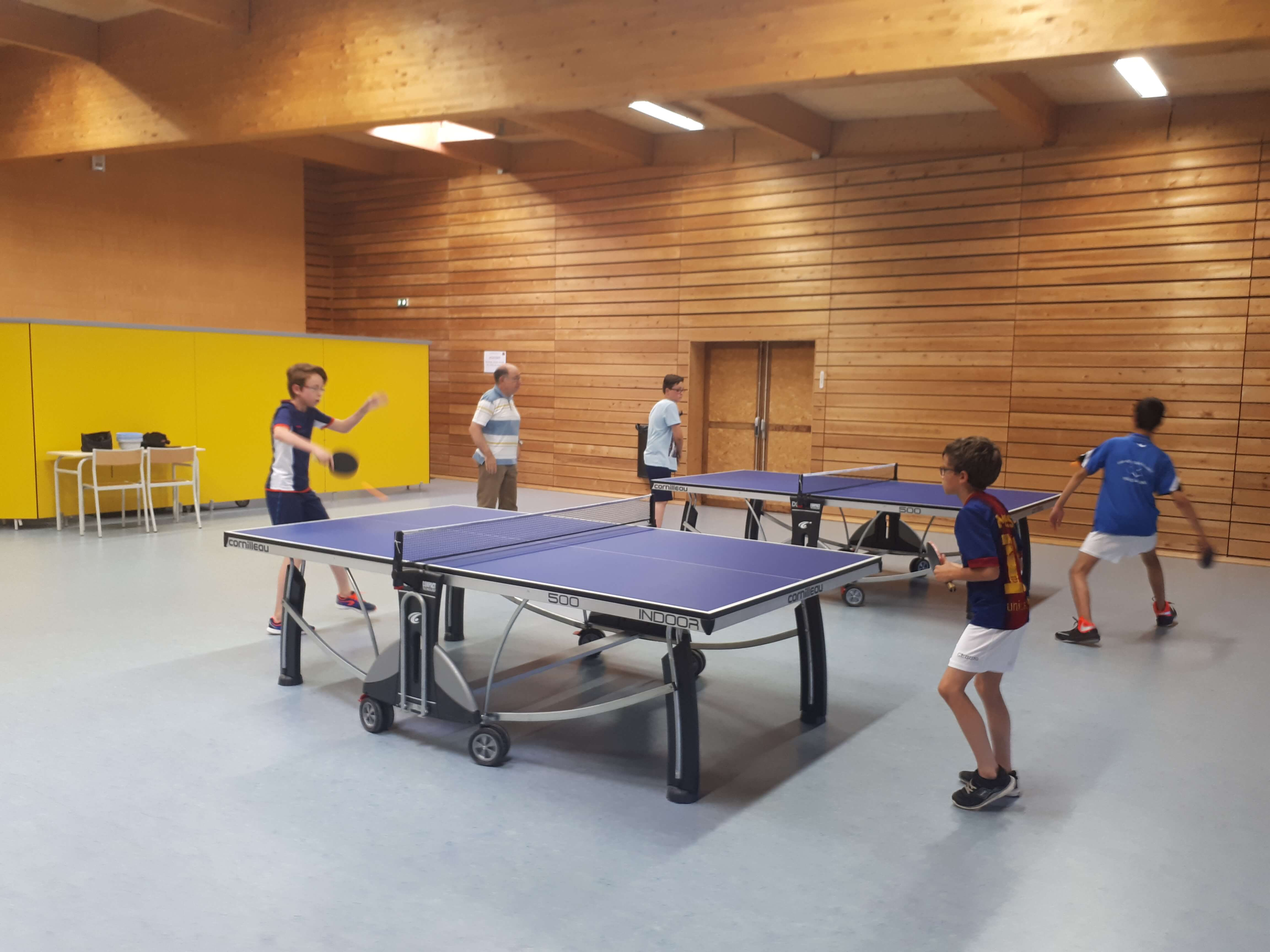 tennis table centre sportif