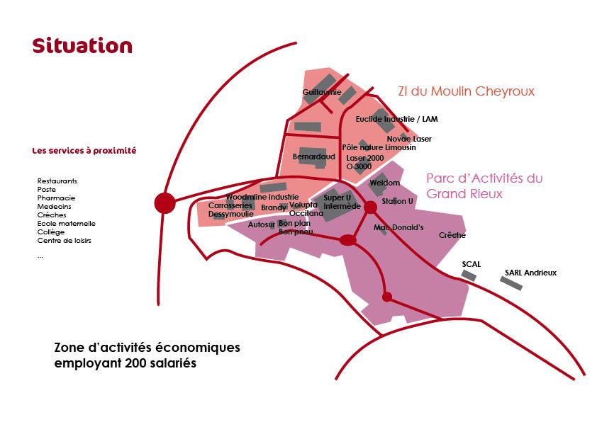 ZA du Moulin Cheyroux Aixe sur Vienne
